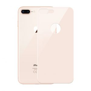 محافظ پشت گوشی شیشه ای JCPal با قطر 0.26 میلی متر مناسب برای آیفون 7 Plus و آیفون 8 Plus طلایی