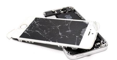 شکستگی تاچ موبایل