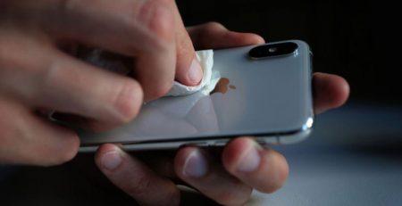 ضد عفونی کردن موبایل
