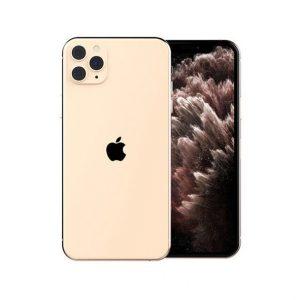 گوشی موبایل اپل مدل iphone 11 pro max طلایی