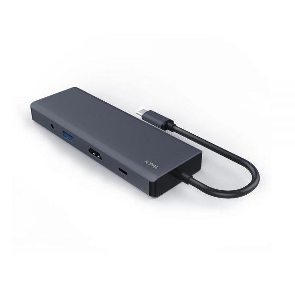 کابل تبدیل USB-C برند jcpal دارای 9 پورت