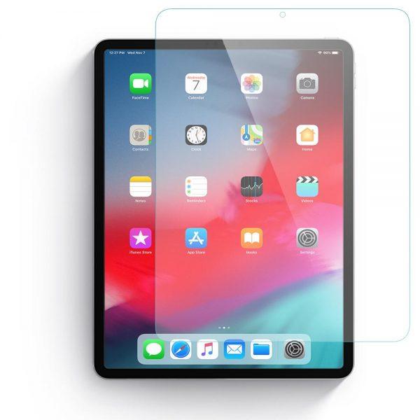 محافظ صفحه نمایش شیشه ای آیپد پرو 12.9 اینچ برند JCPal مدل iClara