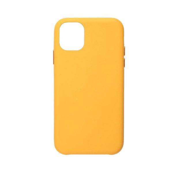 قاب زرد طرح چرم آیفون 11 JCPal مدل iGuard