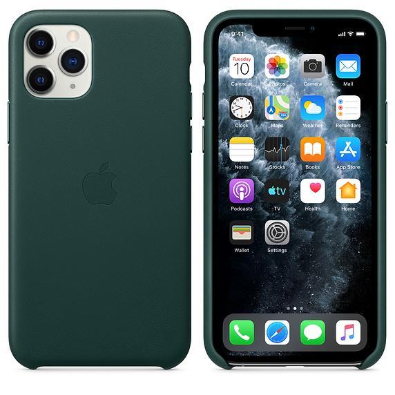قاب سبز طرح چرم آیفون 11 Pro Max از JCPal مدل iGuard