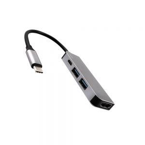 تبدیل Type-c به پورت USB و HDMI برند JCPal مدل LINX