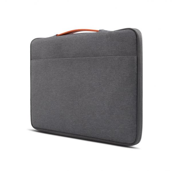 کیف مک بوک 15 اینچی JCPal رنگ طوسی مدل Nylon business