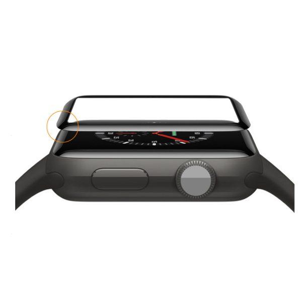 محافظ صفحه نمایش 9D اپل واچ سری 4 برند JINYA سایز 40 میلی متر