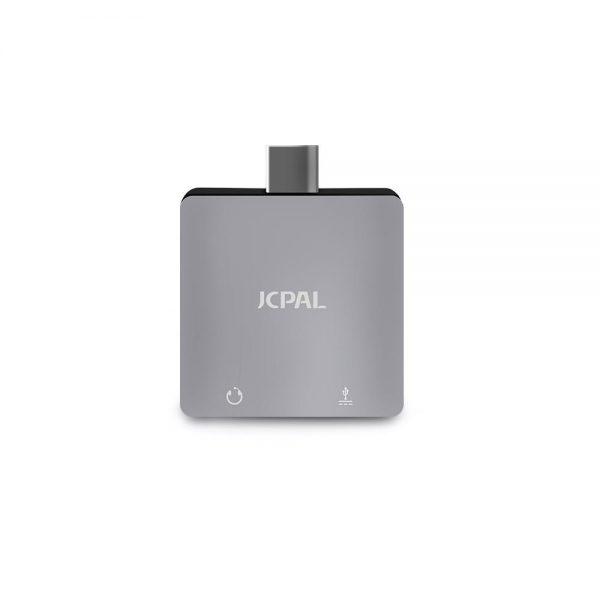 مبدل USB-C به جک 3.5 میلی متری و پورت شارژ جی سی پال (JCPal)