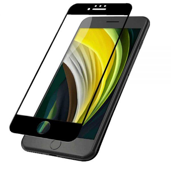 محافظ صفحه نمایش شیشه ای آیفون برند JCPal مناسب برای iPhone SE 2020