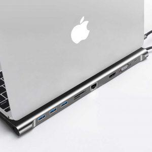 هاب 10 پورت USB-C جی سی پال