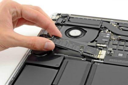 ارتقا هارد HDD به SSD در مک بوک