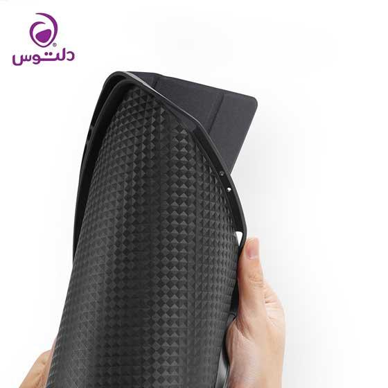 کاور سرمه ای آیپد پرو 12.9 اینچ 2020 جینیا با نگهدارنده قلم اپل