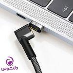 کابل تبدیل مگنتی USB-C به USB-C جینیا
