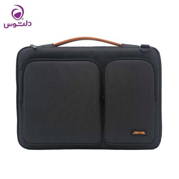 کیف لپ تاپ 13 اینچی جینیا مشکی