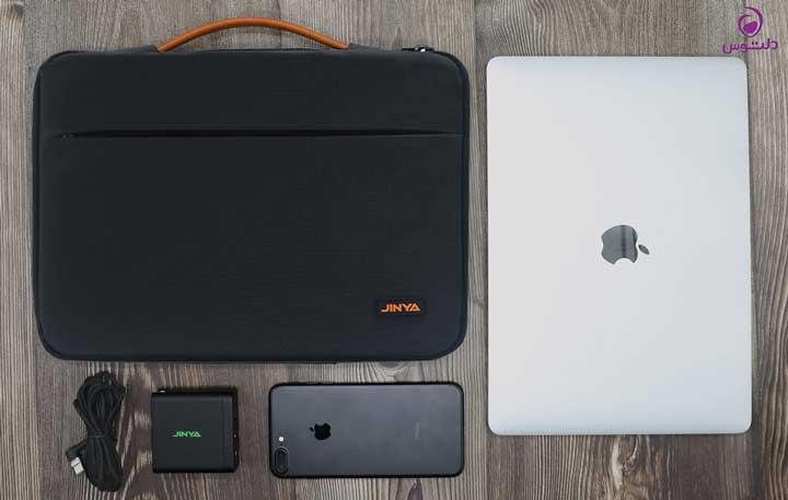کیف لپ تاپ 13 اینچی جینیا