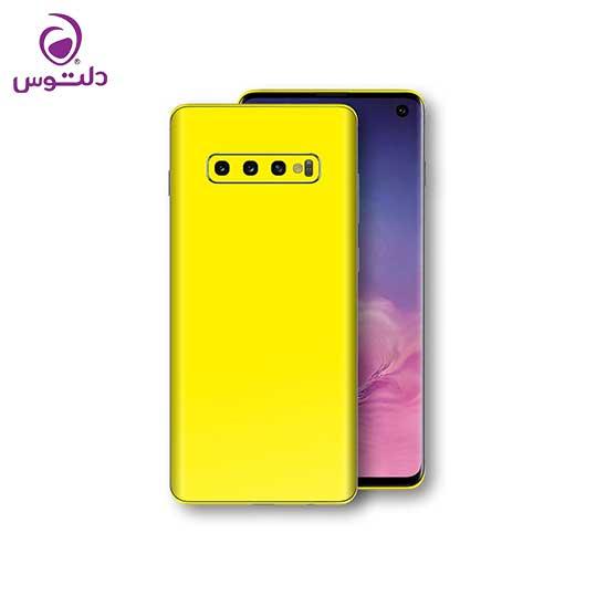 گوشی سامسونگ Samsung Galaxy S10 Plus زرد